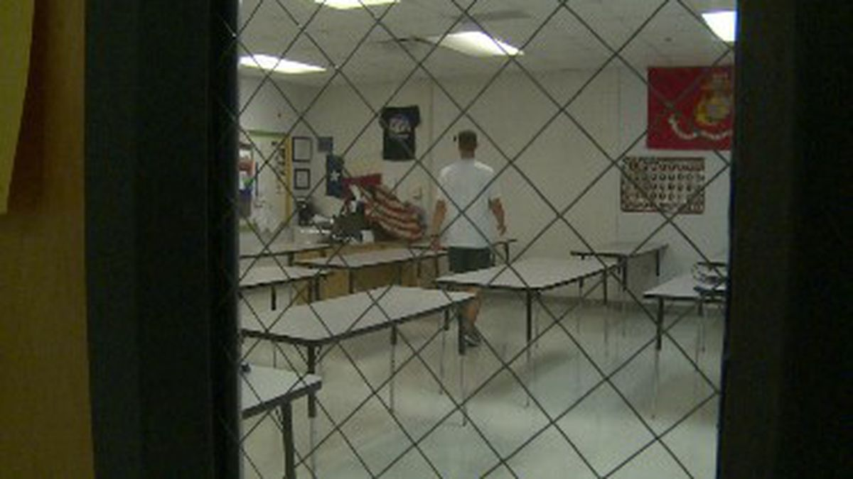 Teachers are packing up their classrooms on the last day of school. (WJHG/WECP)