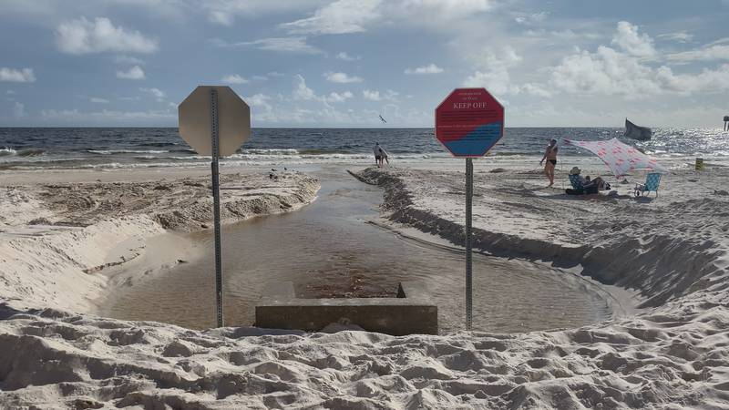 Extensive research done by the city shows the offshore outfalls at the Calypso Towers and...