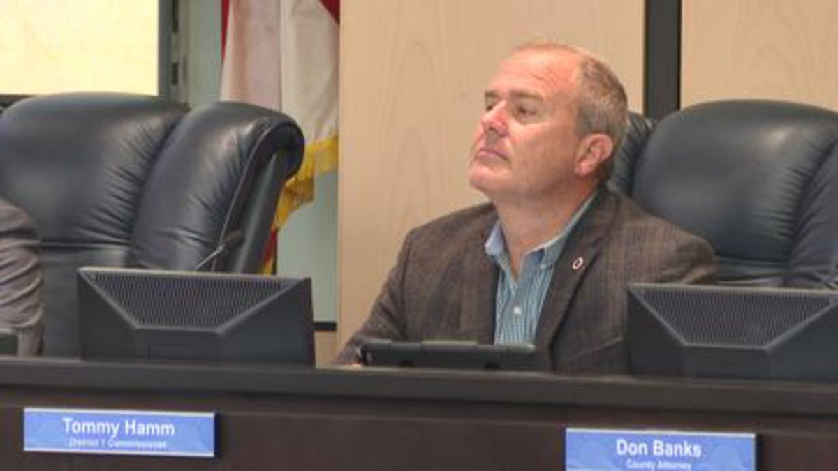 Bay County Commissioner Tommy Hamm is heading to Washington D.C. where he will meet with several agencies to discuss Hurricane Michael recovery. (WJHG/WECP)