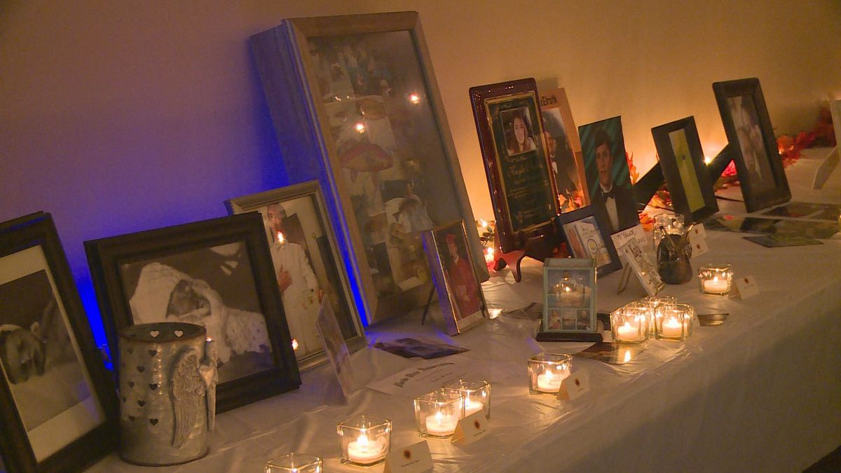 The Compassionate Friends of Bay County held a candle lighting Sunday as part of the world-wide candle lighting for the organization. (WJHG/WECP)