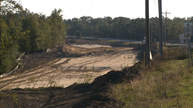 The Highway 77 expansion and resurfacing projects are well underway.