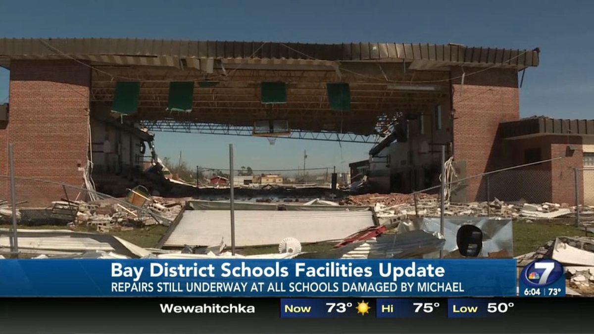 FEMA has approved millions of dollars in additional funds to reimburse Bay District Schools for...
