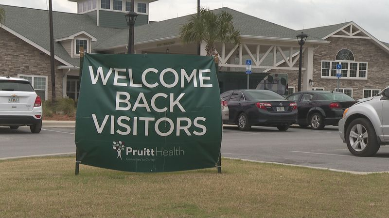 Even though visitation is allowed, it still comes with some restrictions.