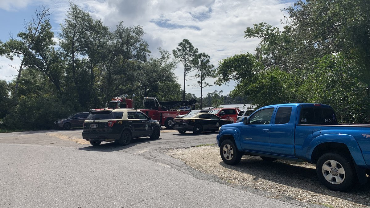 According to the Florida Highway Patrol, a 35-year-old male was found underwater near the...