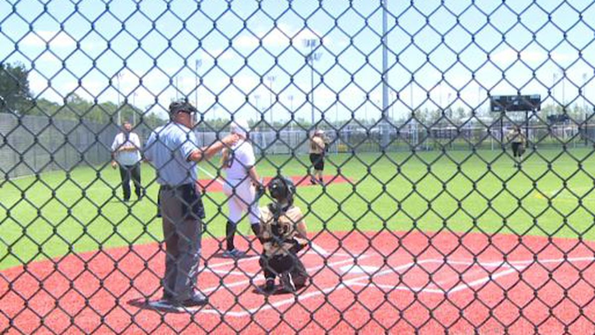 Softball and baseball players from all over the southeast came to the complex for the opening tournament of the summer season. (WJHG/WECP)