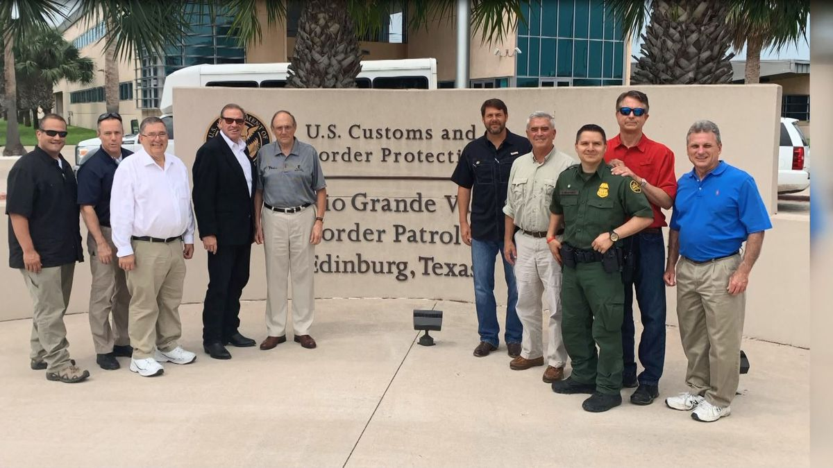 Congress Neal Dunn shares his experience during a visit to the U.S./Mexican border last week. (WJHG/WECP)