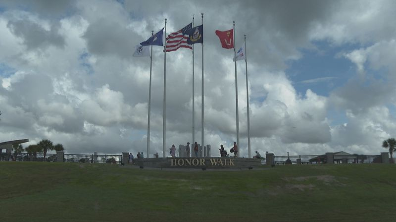 The Honor Walk was dedicated on Veterans Day in Gulf County.