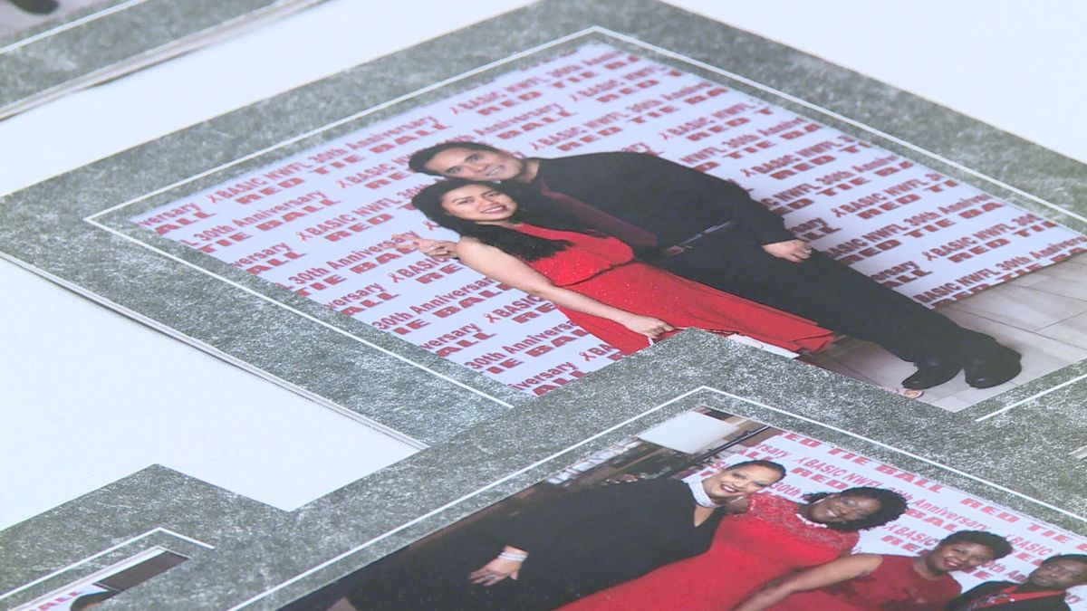 The Red Tie Ball was held to raise money for people living with HIV. (WJHG/WECP)