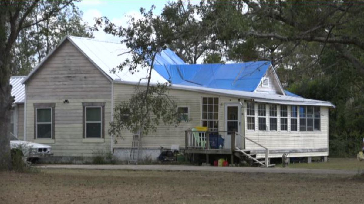 Ann and Randy Seglers' Panama City home suffered catastrophic damage.  (WJHG/WECP)