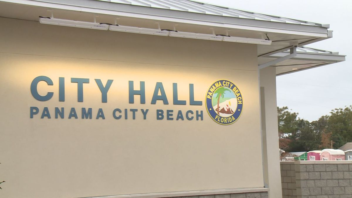 Panama City Beach city officials moved into a new building. (WJHG/WECP)