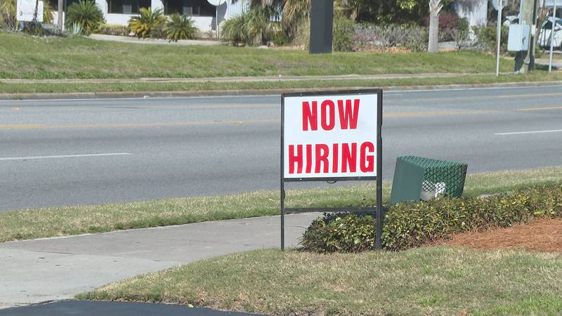 Help wanted signs can be seen up and down the beach as businesses have had issues finding...