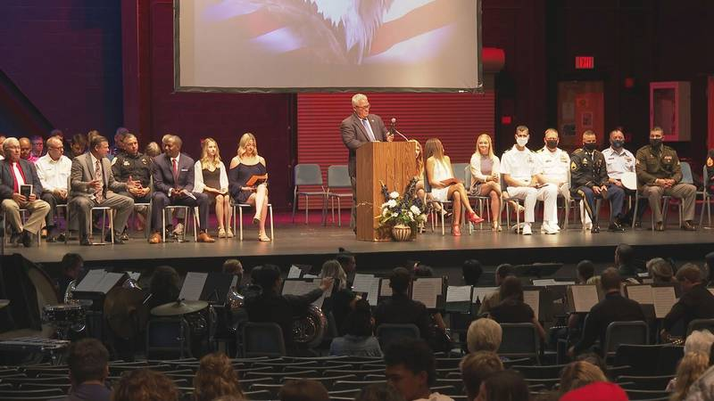 Arnold High School holds 9/11 Remembrance Ceremony.