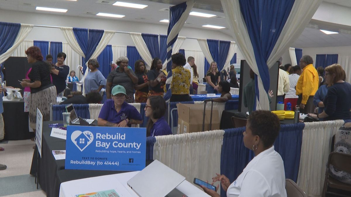 Several providers offer housing assistance services to local storm victim during housing fair. (WJHG/WECP)
