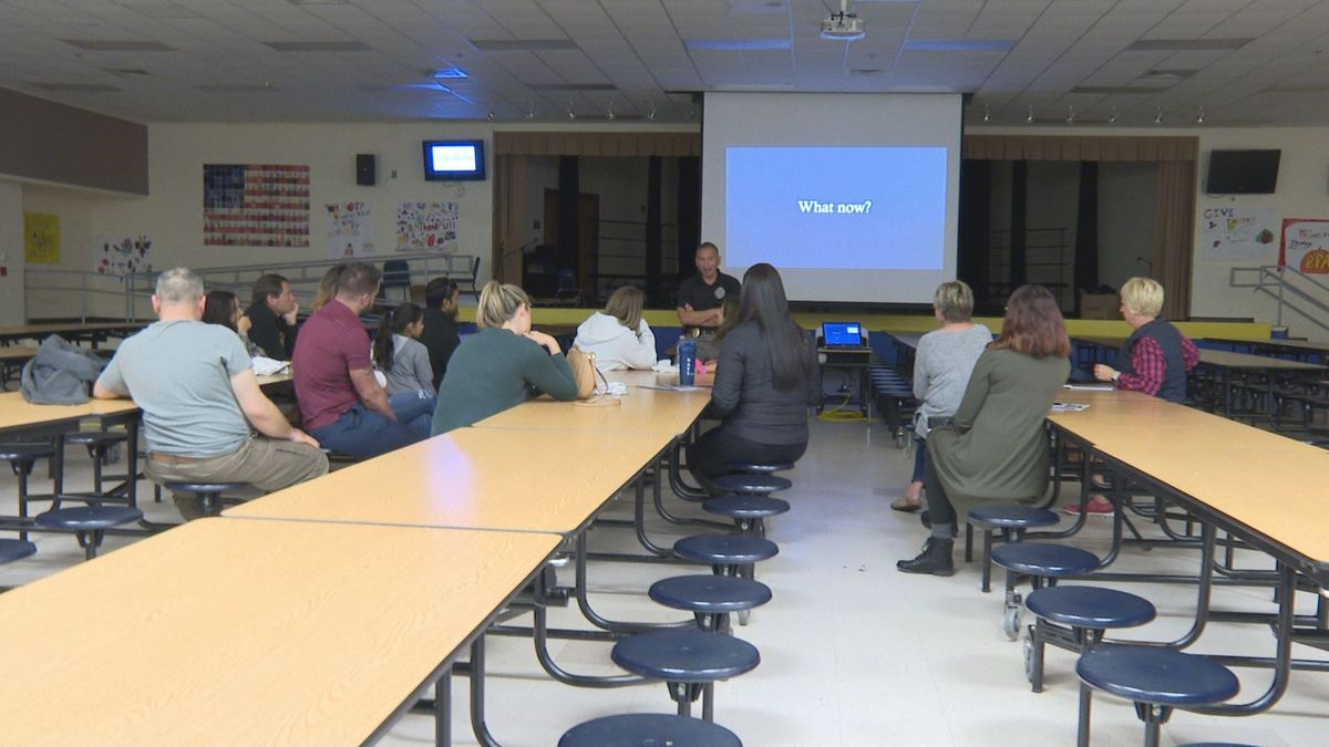 Tuesday, Panama City Beach Police Officers warned parents about the dangers of social media. During the Parents Against Predators Workshop. (WJHG/WECP) -