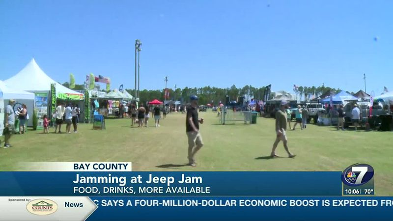 Jeep Jam is here and there's plenty of fun for everyone!