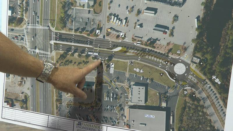A local intersection known for lots of traffic and congestion could soon look a lot different.