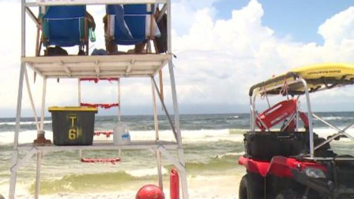 Officials say one person drowned over the holiday weekend. (WJHG/WECP)