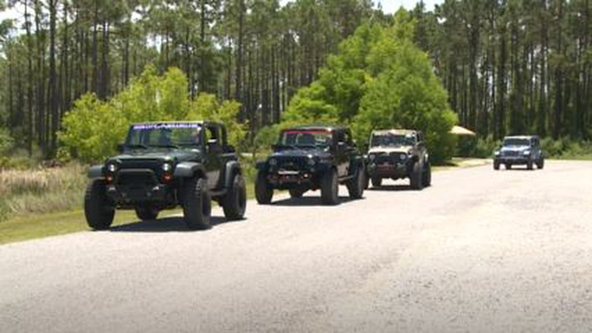 This year's Jeep Jam is expected to bring in 8,000 jeepers. (WJHG/WECP)