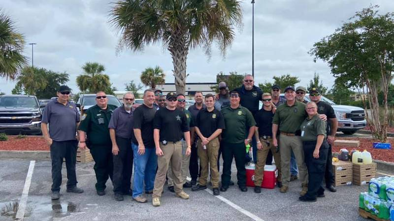 Bay County Sheriff's Office assisting law enforcement in Louisiana Authors