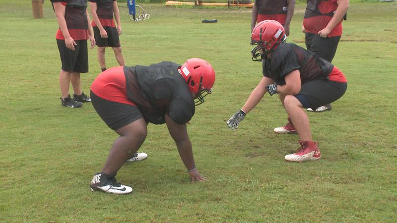 The Tornadoes into a second week of fall practice