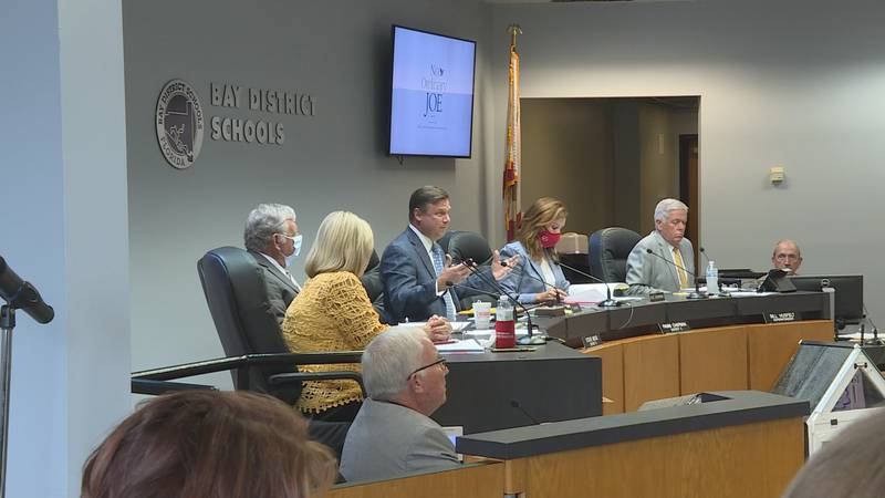 When the school board voted at the meeting two weeks ago to not mandate masks for students or...