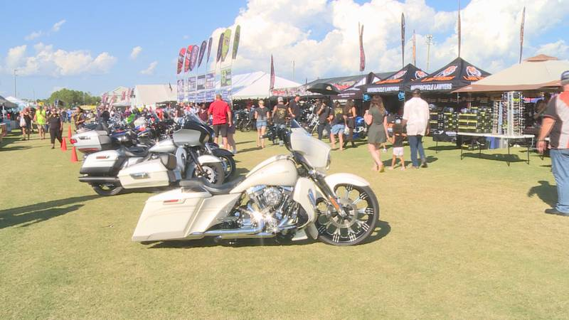 An event that not only brings the bikes and good times, but keeps the money rolling into our...