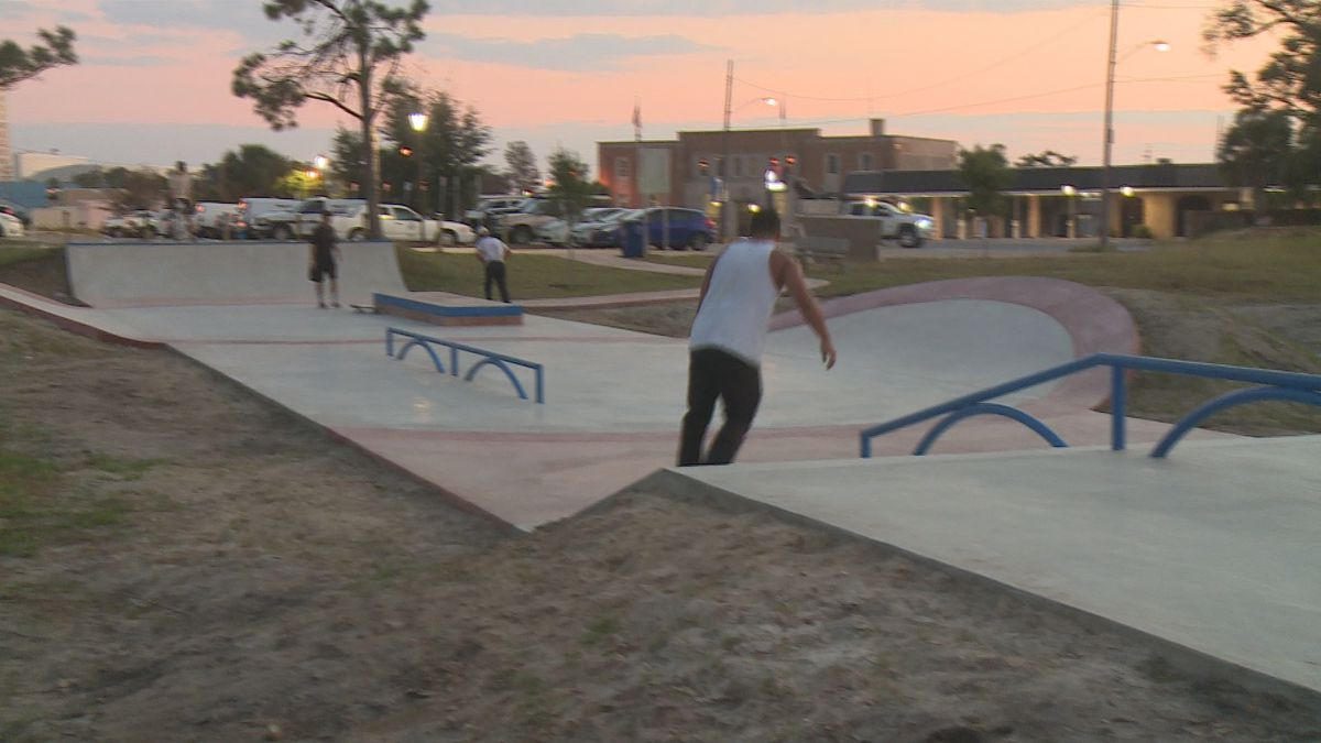 New skatepark opens in downtown Panama City.