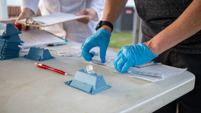 As part of National HIV Testing Day, local organizations came together to offer free HIV testing.