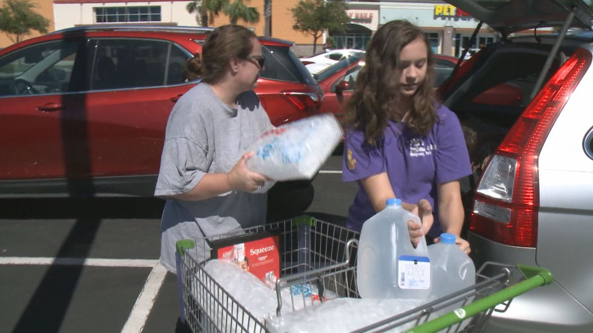 Locals talk about deals, coupons and other ways to save on supplies to prepare for a natural disaster. (WJHG/WECP)