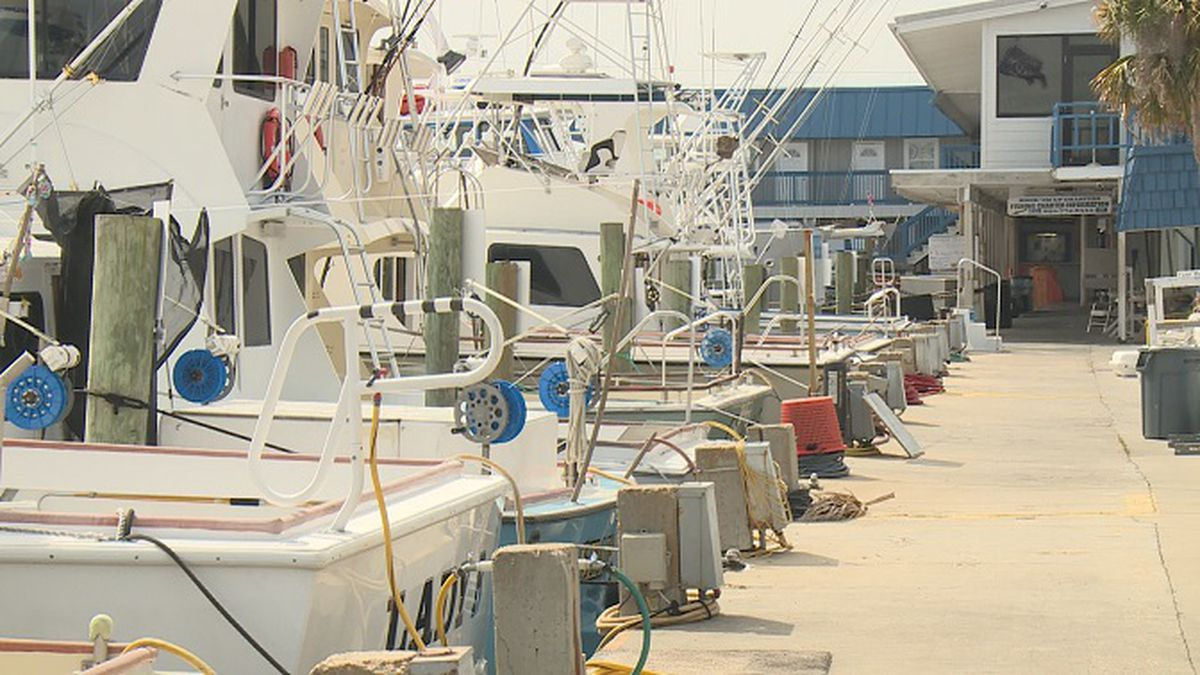 Many charter boats are still available to individuals and small groups. (WJHG)