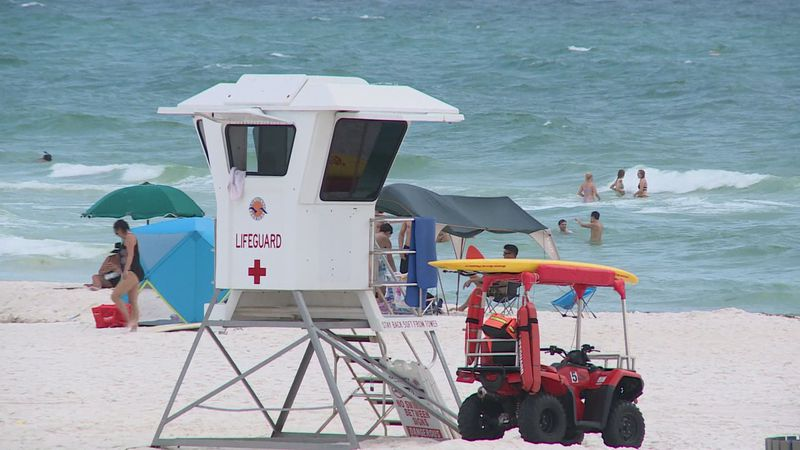 Local lifeguards say most vacationers are not familiar with the flag system.