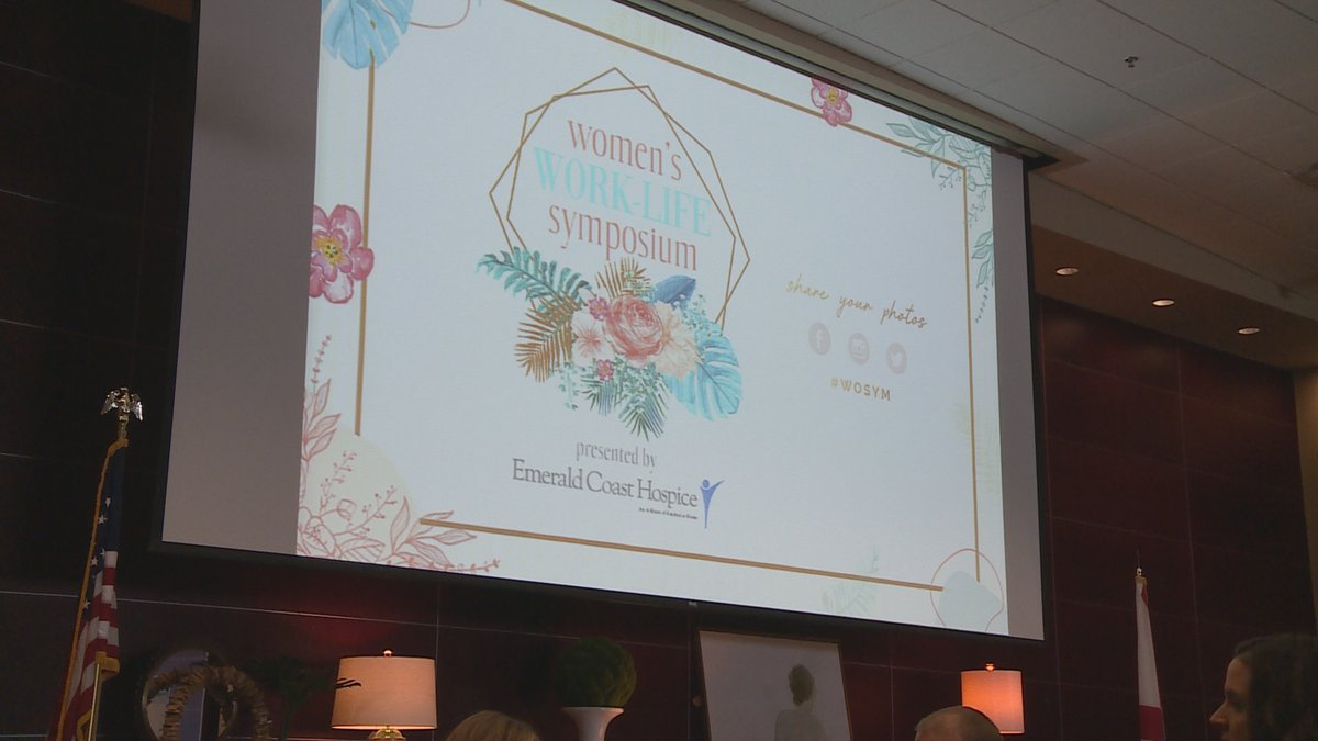 The Panama City Beach Chamber Of Commerce's 11th annual Women's Symposium was held this morning.