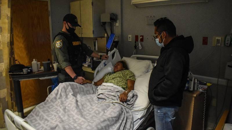 Juana Arano is paralyzed after a random shooting in January.