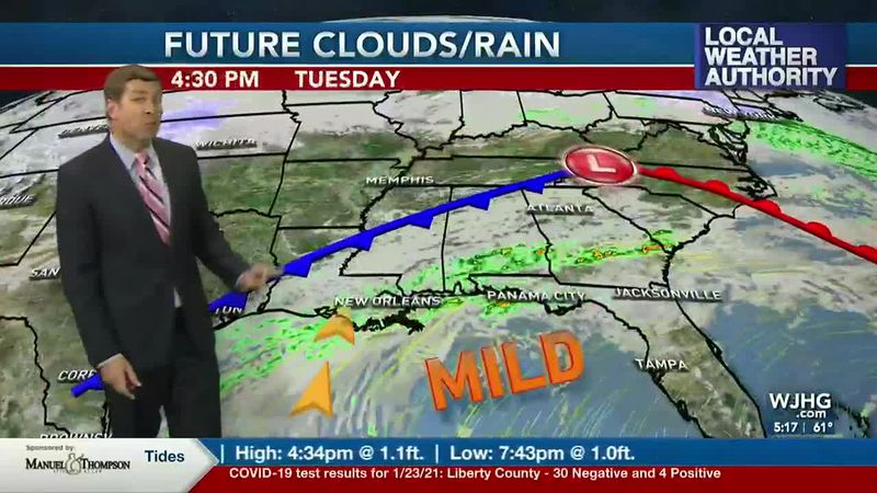 Rain chances are on the increase this week