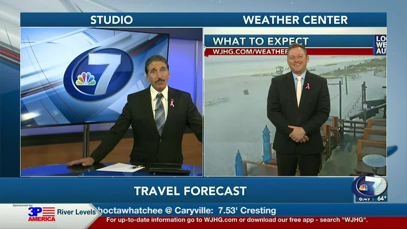 Anchor Paris Janos and Meteorologist Ryan Michaels talk about the beautiful morning we have in...
