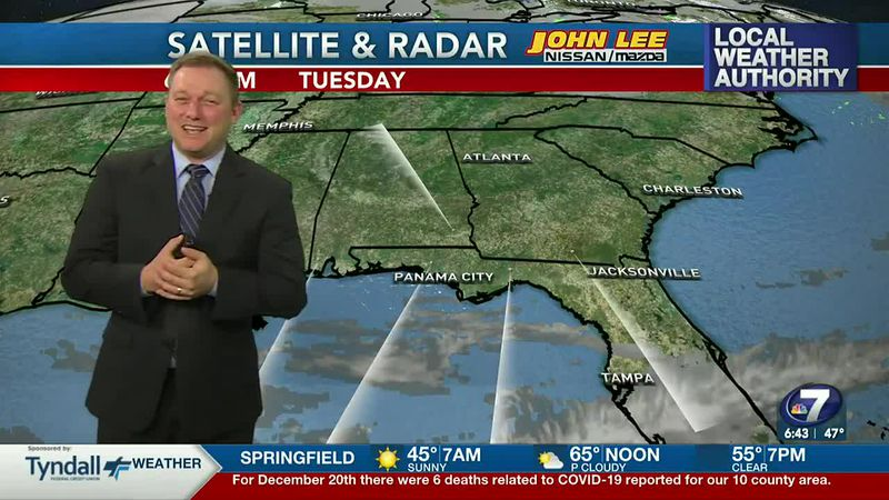 Meteorologist Ryan Michaels says it's chilly sunshine out the door this morning.