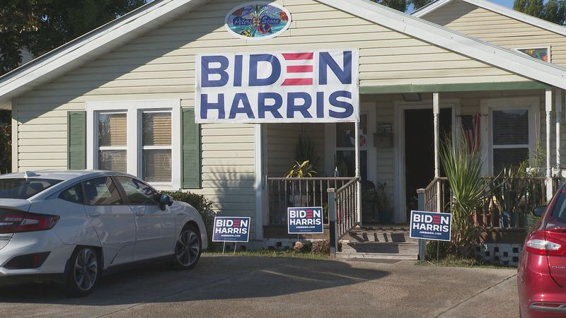 Local Republicans and Democrats react to the election of Joe Biden.