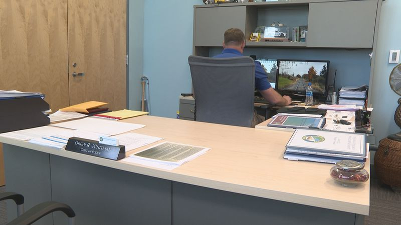 Police Chief Drew Whitman is no stranger to locals as he's served on the police force for 30...