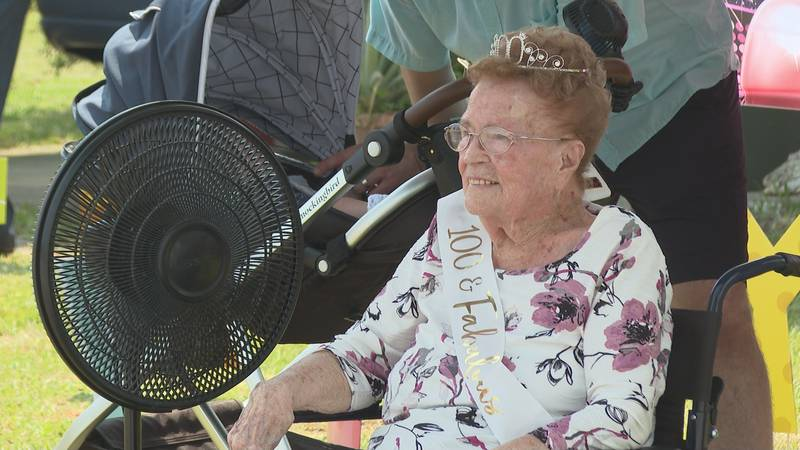 Mallie Rudd Jackson, better known as 'Big Mama' in her community will turn 100 years old on...