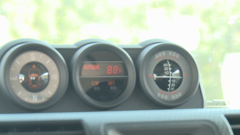 Cars can heat up very quickly in the summer.