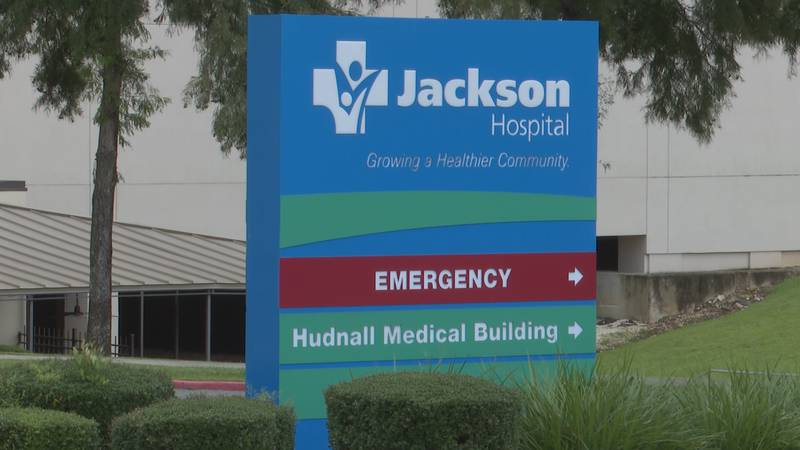 As of Tuesday, Oct. 5, Jackson Hospital only has five COVID-positive patients, with three on...