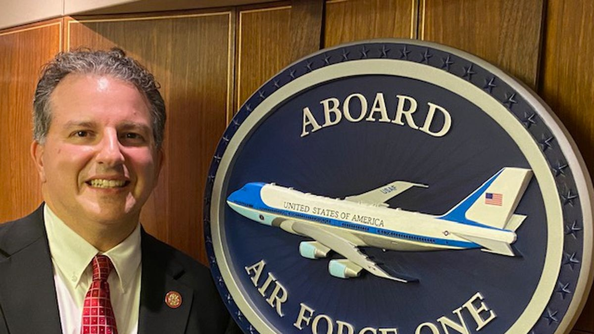 Florida leader and local Bay County Resident, Jimmy Patronis, was invited to fly on Air Force One by President Trump. (WJHG/WECP)