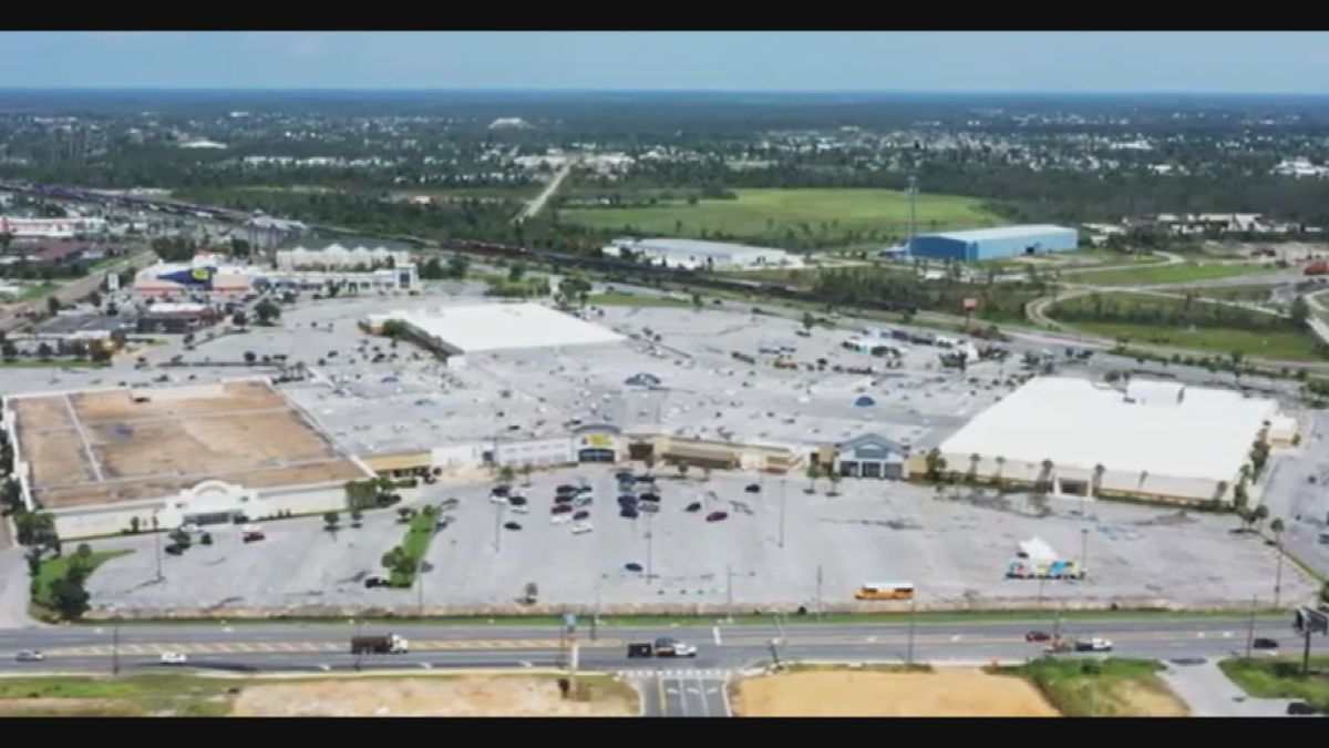 Panama City leaders vote to submit a rezoning request for the Panama City Mall property.