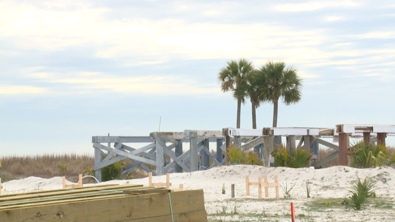Mexico Beach has been doing everything possible to rebuild after Hurricane Michael hit in 2018.