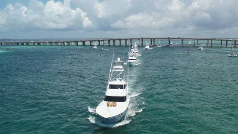 Crews head out for first day of Emerald Coast Blue Marlin Classic.