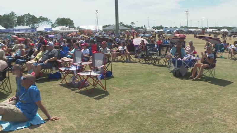 Thousands of people are attending many events in PCB this weekend.