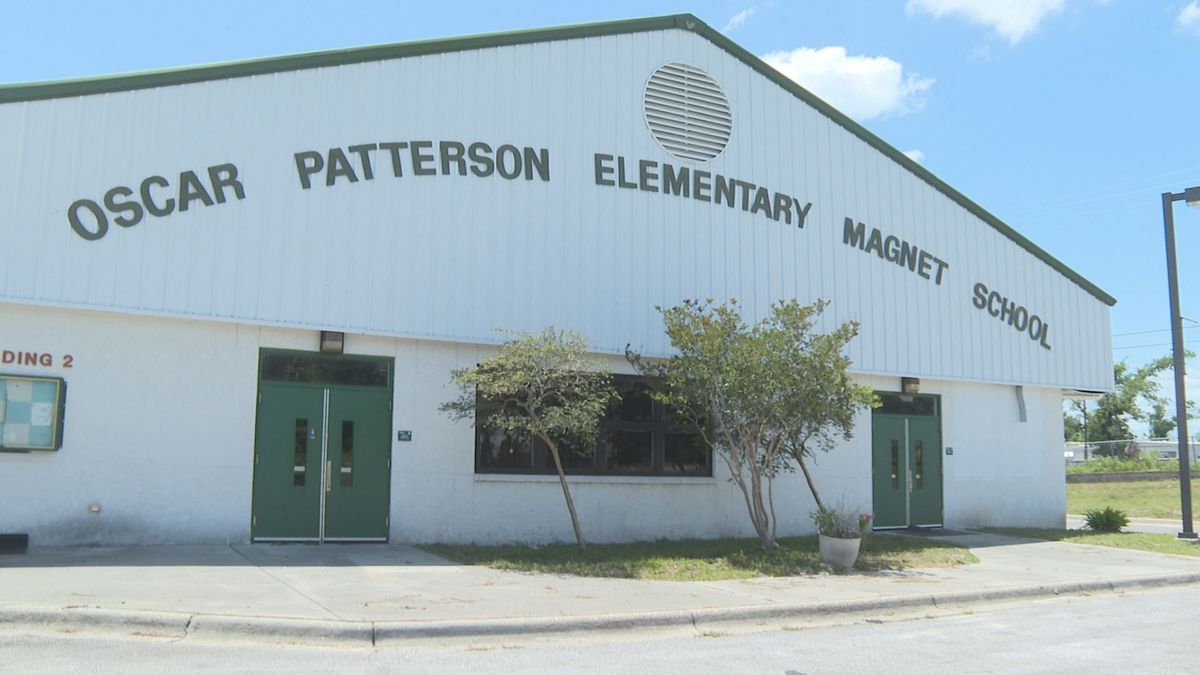 Oscar Patterson Elementary was mothballed by Bay District Schools and its future remains uncertain a year after that decision. (WJHG/WECP)