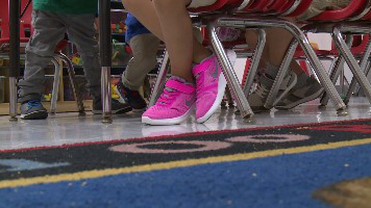 One suggestion is keeping the desks six feet apart. (WJHG/WECP)