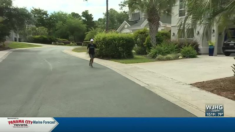 At age 64, one South Walton woman has accomplished a feat with her *two feet many of us can't...