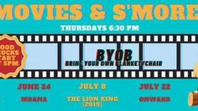 MOVIES, SMORES AND MORE ARE COMING TO A LOCAL STATE PARK THURSDAY